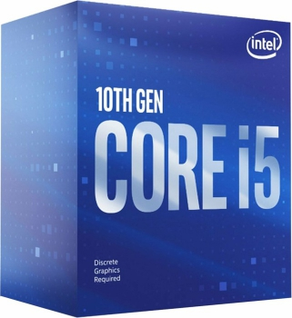 Intel Core i5-10400F Boxed (6 x 2.90 GHz, Turbo 4.30 GHz, 12 Threads)