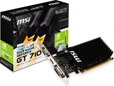 2GB GeForce GT 710 MSI LP