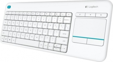 Logitech K400 Plus Wireless Touch Keyboard weiß
